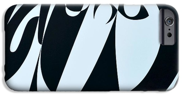 Hear iPhone Cases - Receive As Truth, 1999 Acrylic On Board iPhone Case by Ron Waddams