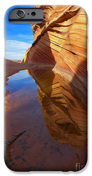Red Rock iPhone Cases - Recurve iPhone Case by Mike  Dawson