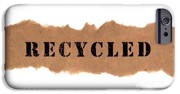 Recycle iPhone Cases - Recycled iPhone Case by Olivier Le Queinec
