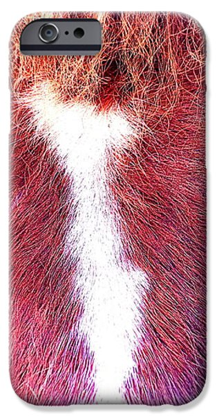 red alert  iPhone Case by Hilde Widerberg