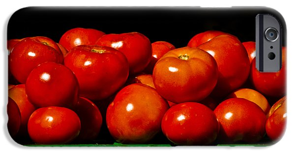 Christi Kraft iPhone Cases - Red and Ripe iPhone Case by Christi Kraft