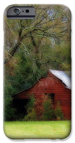 Red Barn iPhone Case by Steven Richardson