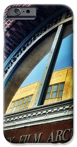 Red Brick Reflection iPhone Case by Natasha Marco
