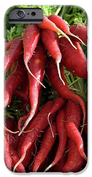Red Carrots iPhone Case by Charlette Miller