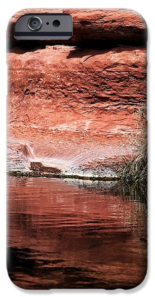 Red Creek iPhone Case by John Rizzuto