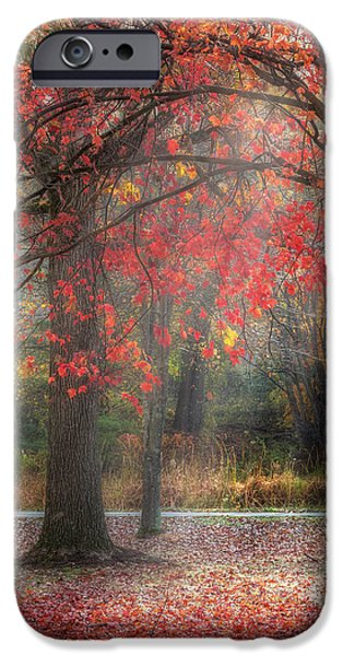Red Dawn Square iPhone Case by Bill  Wakeley