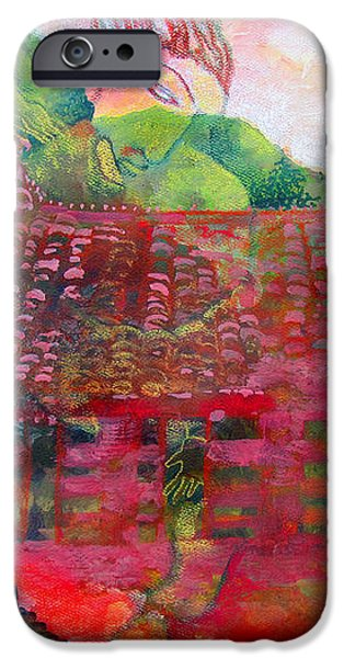 Red Festival iPhone Case by James Huntley