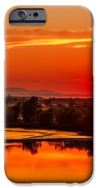 Red Glow iPhone Case by Robert Bales