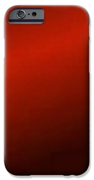 Flag iPhone Cases - Red Lightning iPhone Case by Matteo TOTARO