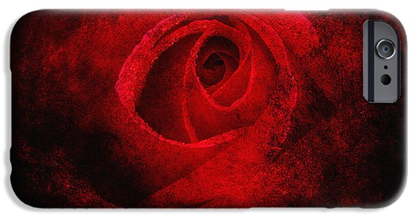 Digitally Created iPhone Cases - Red Magic iPhone Case by Edmund Nagele