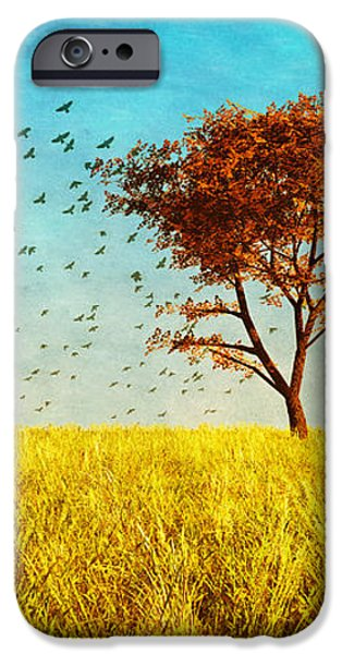 Red Maple iPhone Case by Bob Orsillo
