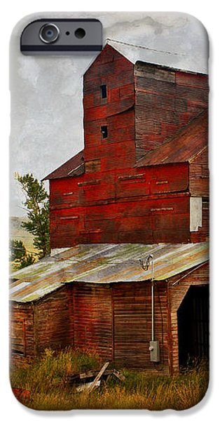 Red Mill Montana iPhone Case by Marty Koch
