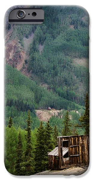 Red Mountain Remnants iPhone Case by Lana Trussell