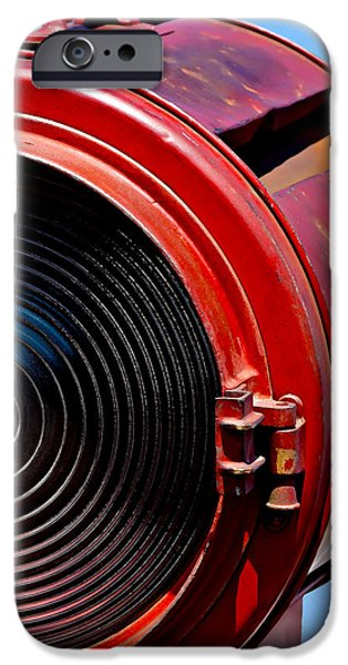 Recently Sold -  - Technical iPhone Cases - Red Movie Light iPhone Case by Art Block Collections