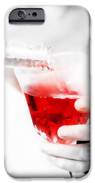 Red Red Wine iPhone Case by Jenny Rainbow