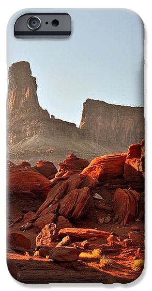 Red Rock and Spire iPhone Case by Marty Koch