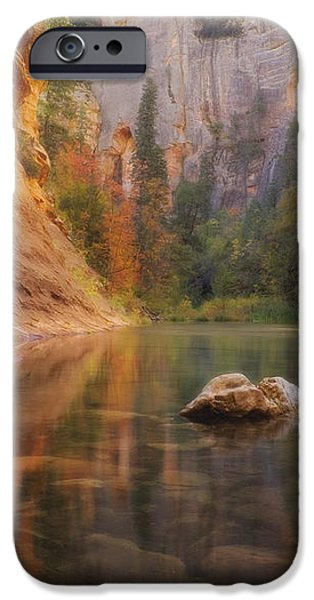 Red Rock Autumn iPhone Case by Peter Coskun