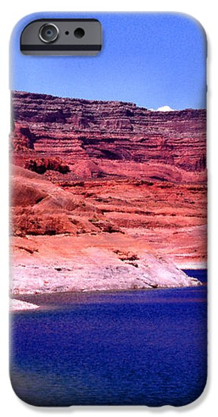 Red Rock Blue Sky iPhone Case by Thomas R Fletcher