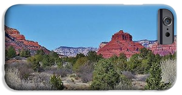 Oak Creek iPhone Cases - Red Rock Country iPhone Case by Bruce Bley