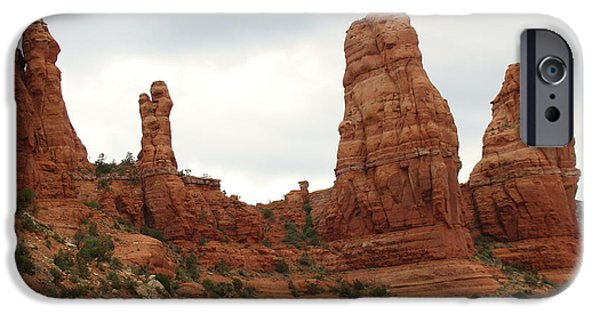 Cathedral Rock iPhone Cases - Red Rock Country Sedona Az iPhone Case by Beverly Guilliams