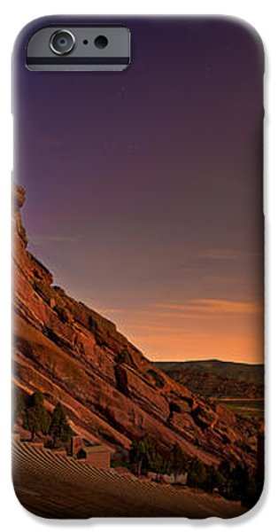 Red Rocks Amphitheatre at Night iPhone Case by James O Thompson