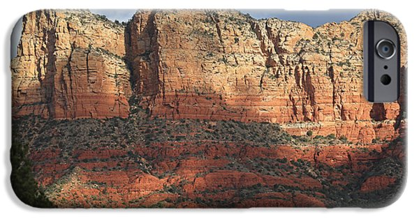 Sedona iPhone Cases - Red Rocks of Sedona 2 iPhone Case by Donna Kennedy