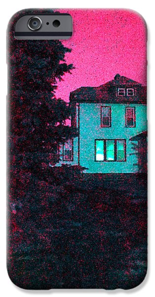 Guy Ricketts Photography iPhone Cases - Red Skies iPhone Case by Guy Ricketts