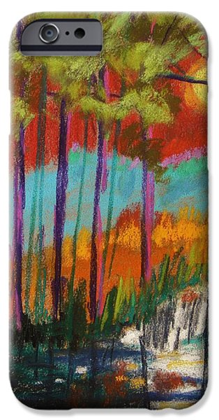Jmw Pastels iPhone Cases - Red Sky iPhone Case by John  Williams