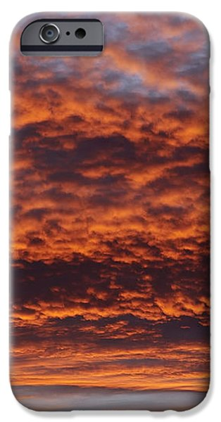 red sky iPhone Case by Michal Boubin