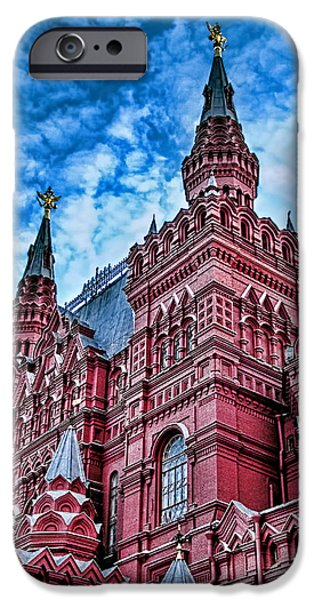 St John The Russian iPhone Cases - Red Square - Moscow Russia iPhone Case by Jon Berghoff