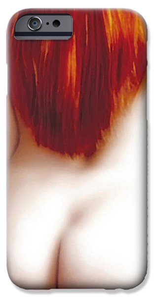 Woman Photographs iPhone Cases - Red Temptation iPhone Case by Joachim G Pinkawa