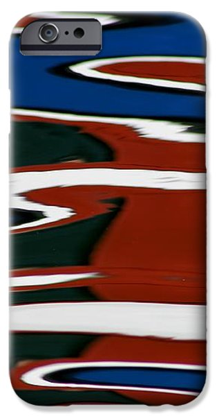 Red White and Blue I iPhone Case by Heidi Piccerelli