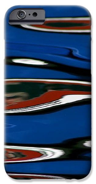 Red White and Blue II iPhone Case by Heidi Piccerelli