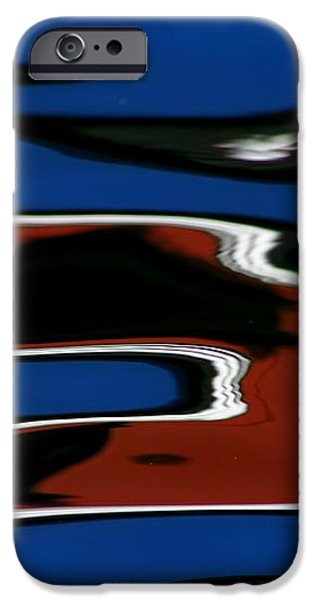 Red White and Blue III iPhone Case by Heidi Piccerelli
