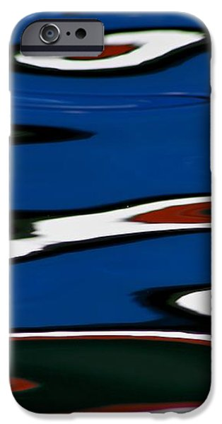 Red White and Blue IV iPhone Case by Heidi Piccerelli
