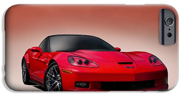 Horsepower iPhone Cases - Red ZR1 iPhone Case by Douglas Pittman