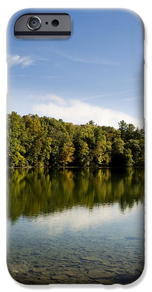 States iPhone Cases - Reflecting A New Day iPhone Case by Christina Rollo