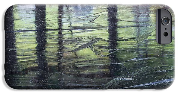 iPhone Cases - Reflecting on Transitions iPhone Case by Mary Amerman
