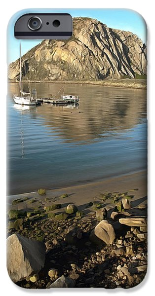 Sea iPhone Cases - Reflection Anchorage iPhone Case by Barbara Snyder