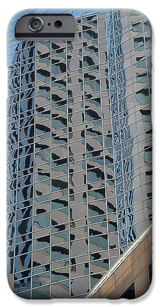 Building iPhone Cases - Reflection  II 0074 iPhone Case by Guy Whiteley