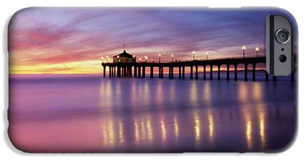 Recently Sold -  - Sea iPhone Cases - Reflection Of A Pier In Water iPhone Case by Panoramic Images