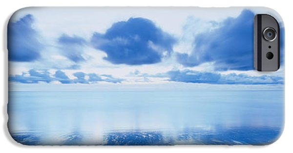 Sublime iPhone Cases - Reflection Of Clouds On Water, Foxton iPhone Case by Panoramic Images
