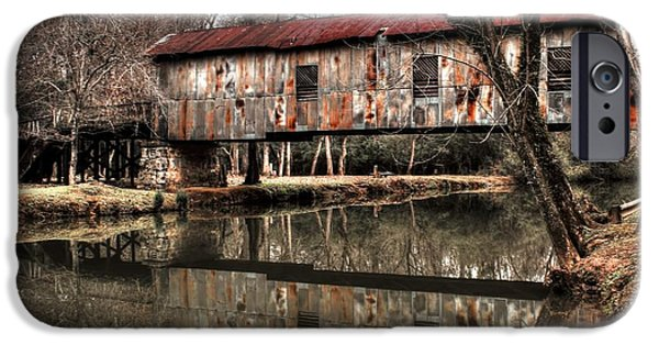 Grist Mill iPhone Cases - Reflection iPhone Case by Randy Jackson