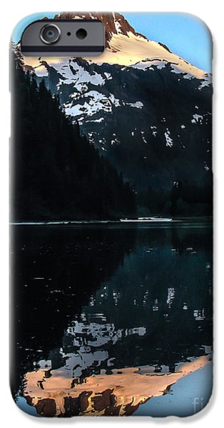 Tongass iPhone Cases - Reflection iPhone Case by Robert Bales