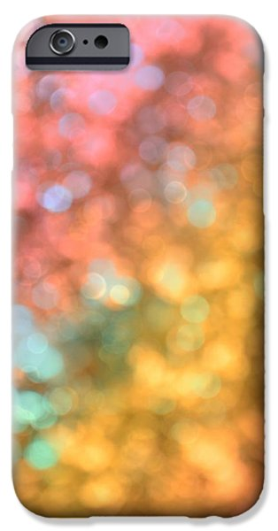 Burnt Umber iPhone Cases - Reflections - Abstract  iPhone Case by Marianna Mills
