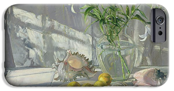 Spring iPhone Cases - Reflections and Shadows  iPhone Case by Timothy  Easton