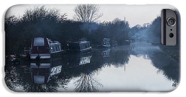 Milton Keynes iPhone Cases - Reflections iPhone Case by David Isaacson