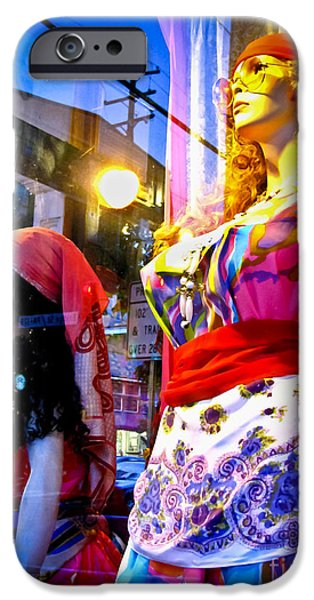 Reflections in the Life of a Mannequin iPhone Case by Colleen Kammerer