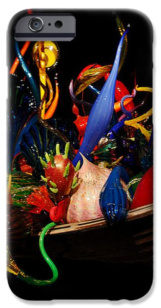 Reflections of Glass 3 iPhone Case by Cheryl Young
