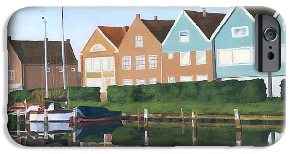 Holland Paintings iPhone Cases - Reflections of Holland iPhone Case by Lynne Reichhart